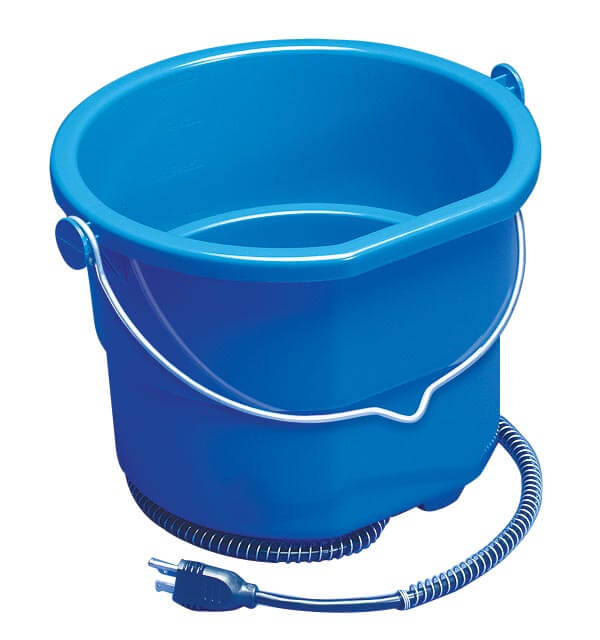 Heated Flat Back Bucket 5 Gallon