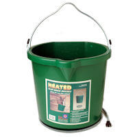 Heated Flat Back Bucket - 24 Quart
