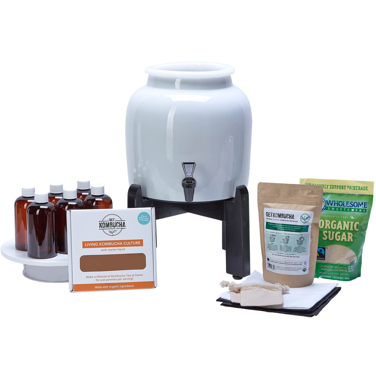 Kombucha Continuous Brewing Kit BASIC