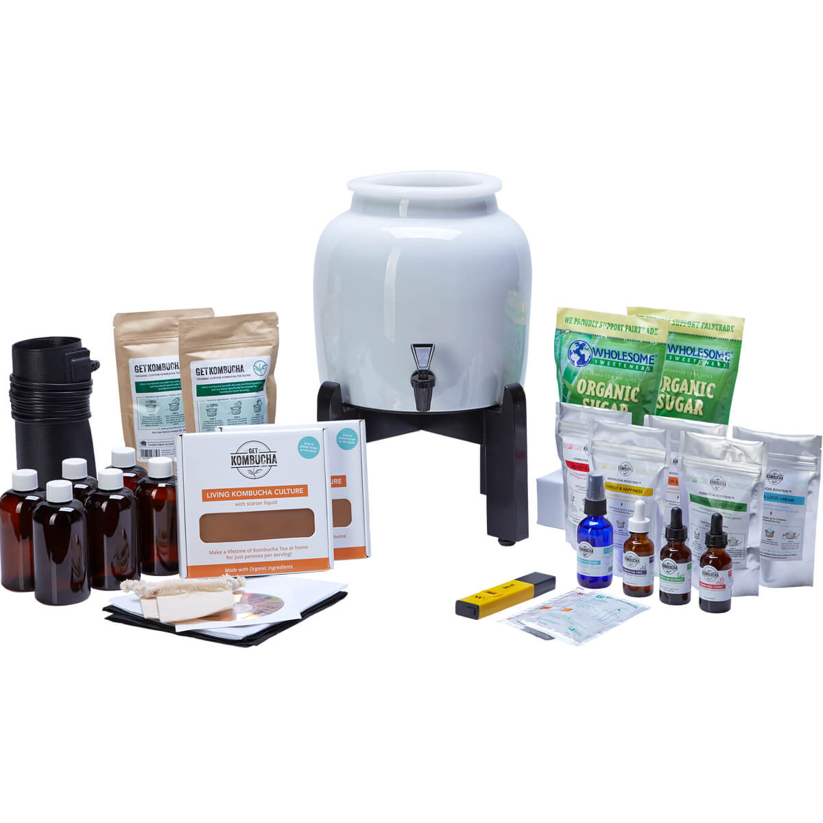 Kombucha Continuous Brewing Kit BREW MASTER SELECT