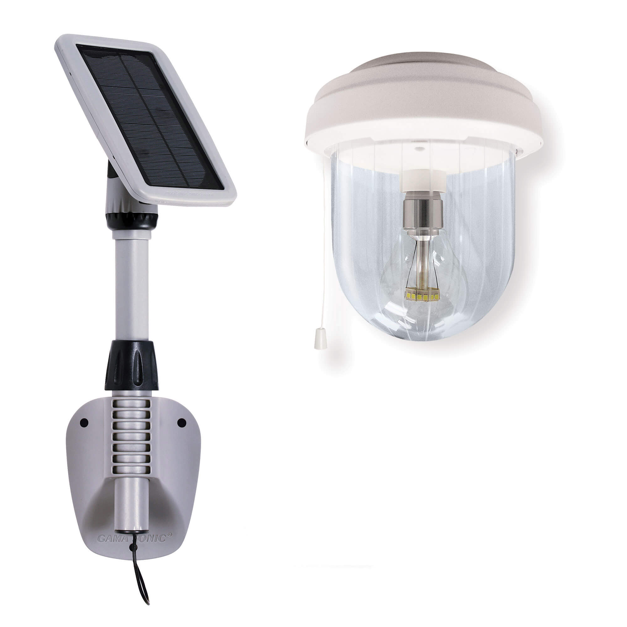 Light My Shed IV – Solar Powered Shed Light with Single Lamp