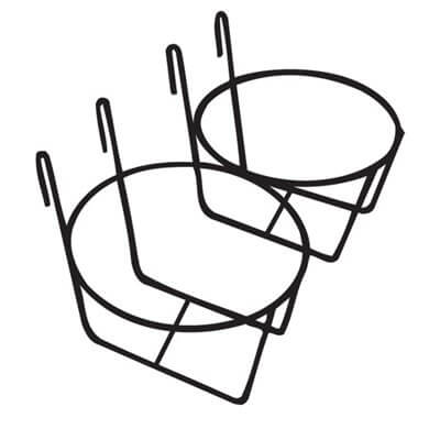 Double Pail Holder for Use on Wire Fence - case of 12