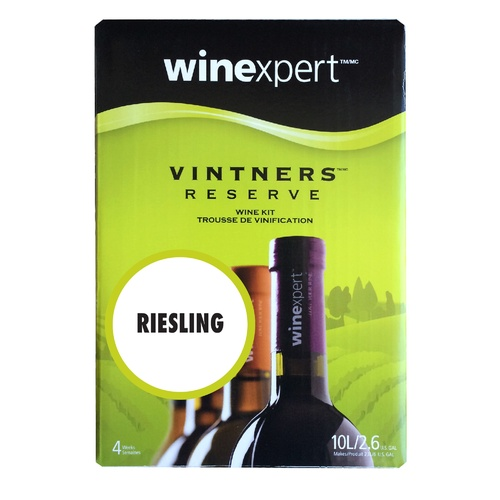 Winexpert Vintner's Reserve Riesling Wine Recipe Concentrate