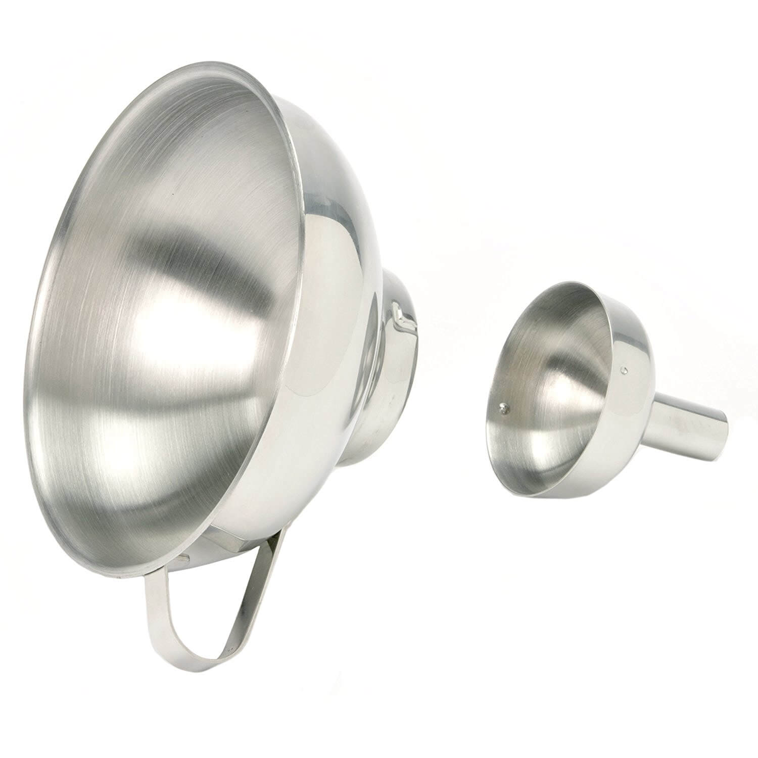 Stainless Steel Funnel with Removable Spout