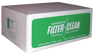 "Schwartz 6-1/2"" Filter Disks--36 Boxes of 100"