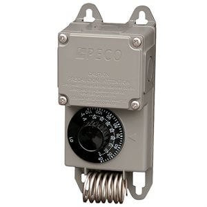 Single Stage Thermostat Control--120 / 240 / 277V, 50 / 60Hz