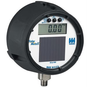 Solar Digital Vacuum Gauge