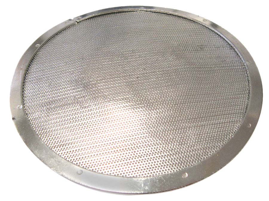 Stainless Steel Filter with Stainless Screen and Box of Filters