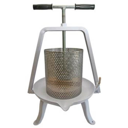 Fruit Press with Stainless Steel Basket