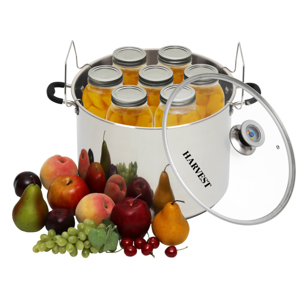 HARVEST Stainless Steel Multi Use Canner