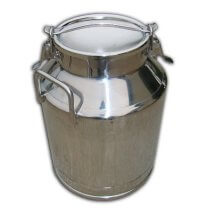 Toggle Lid Milk Can - 7.5 gallon