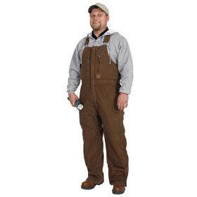 Five Rock Sand Washed Insulated Bib Overalls