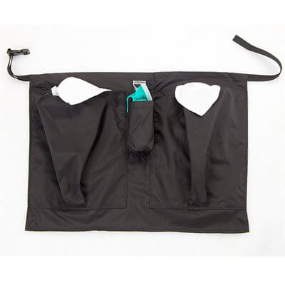 Towel Tote Half Apron with Dipster Pocket