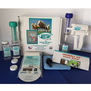 Udderly EZ Milker Kit for Sheep, Pygmy, and Exotic