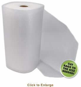 Vacuum Bag Roll - 11 in x 50 ft