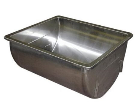 Stainless Steel Wash Sink - Single 18 gallons