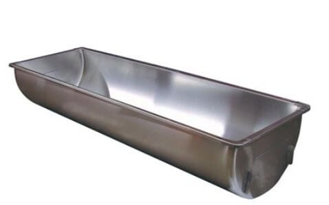 Stainless Steel Wash Sink - Single 39 gallons