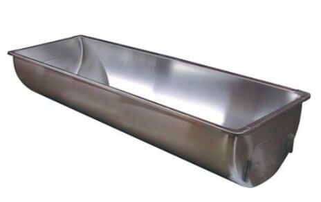 Stainless Steel Wash Sink - Single 48 gallons