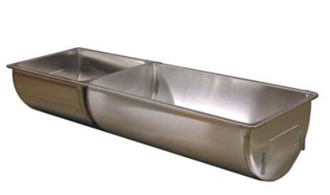 Stainless Steel Double Sink 18/29 gal