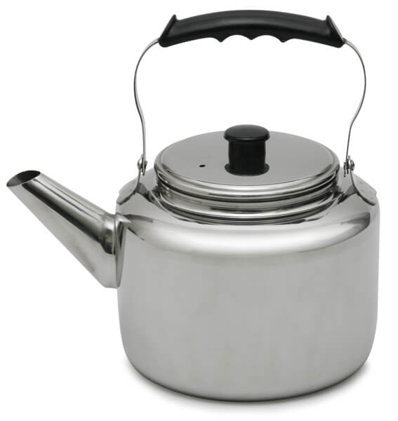 Stainless Steel Tea Kettle 5 1/2 quart