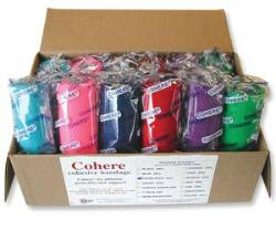 Cohere Cohesive Bandage--Assorted Colors Case