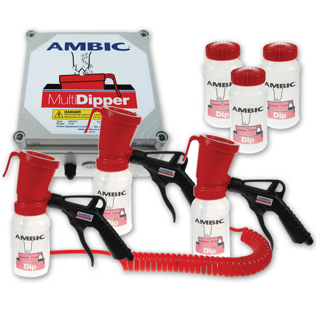 Ambic MultiDipper Complete w/3 Applicators