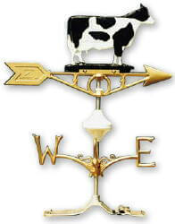Weathervane - Painted Dairy Cow