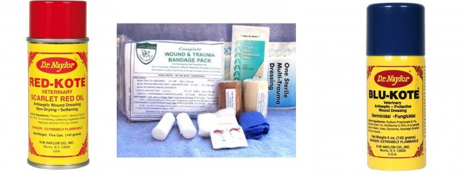 Care Kit for Wounds and Traumas