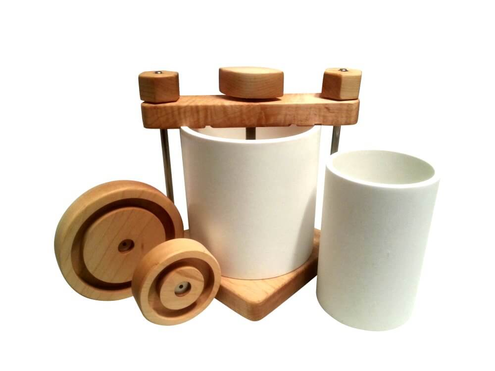 The Ultimate Cheese Press - Maple Wood
