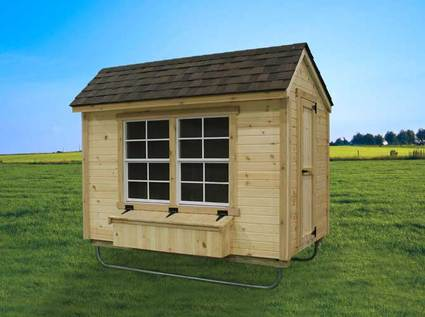 EZ-fit Chicken Coop 5Ft X 8Ft