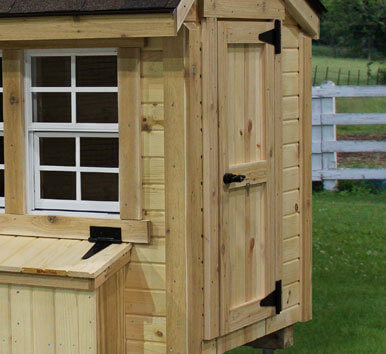 EZ-fit Chicken Coop 4Ft X 6Ft