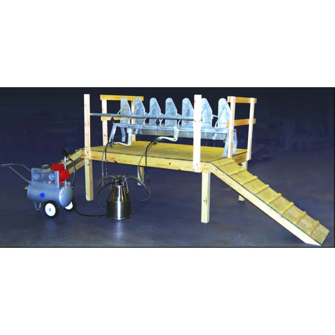 Goat And Sheep 6 Stall Milking Unit