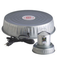 poultry water, heater base