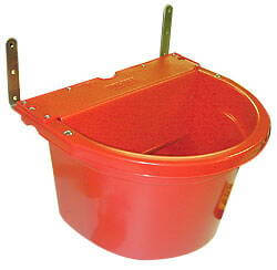 16 Qt. Automatic Waterer--Red Set of Two