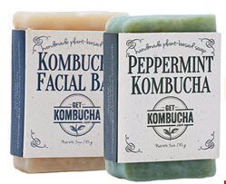 Kombucha Body and Facial Soaps