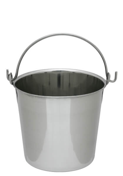 Stainless Steel Pail Heavy Duty - 6 quart