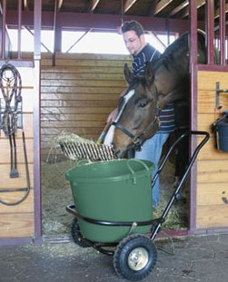 Muck Cart and Bucket
