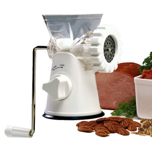 Deluxe Meat Grinder, Mincer, and Pasta Maker