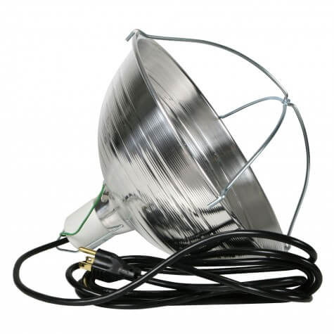 Quality Heat Lamp w/ Grounded Cord