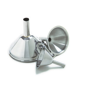 Funnels - Set of 3 Stainless Steel