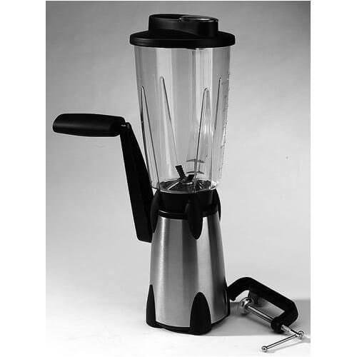 Hand Crank Vortex Portable Blender